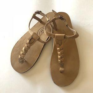 Rainbow T-Street Leather Sandals 6.5-7.5